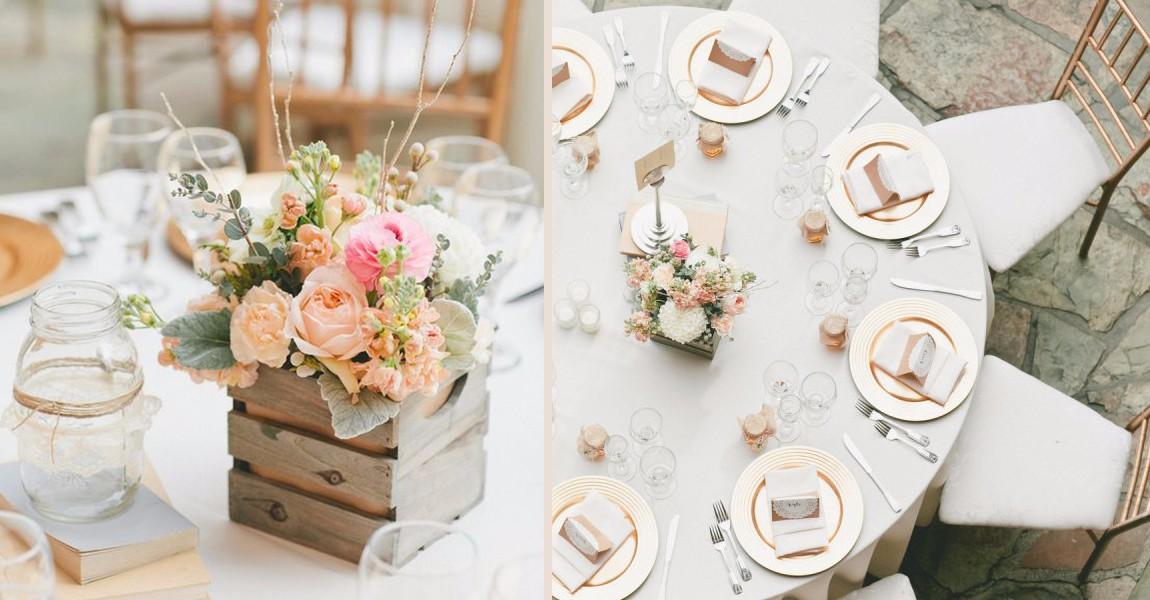 Super Decorazioni tavoli matrimonio: 5 idee originali per le tue nozze  RI06