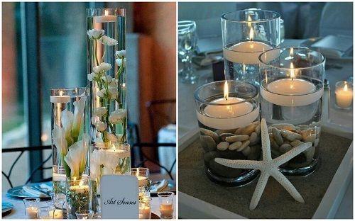 Matrimonio Spiaggia Decorazioni : Decorazioni matrimonio illumina il tuo evento con le candele