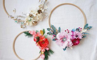Bouquet da sposa originali: esalta il tuo outfit con un esclusivo cerchio di fiori!