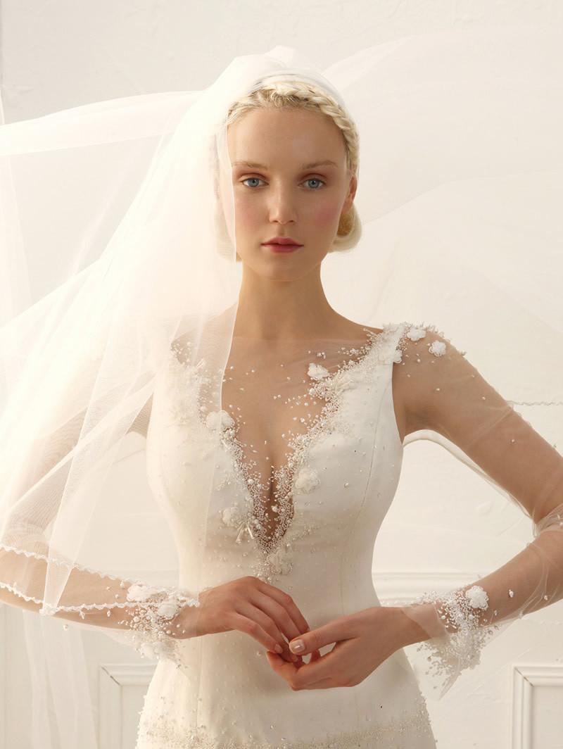 6813300457cce Alta Moda Sposa 2015  abiti da sposa con le maniche - Abiti da sposa ...