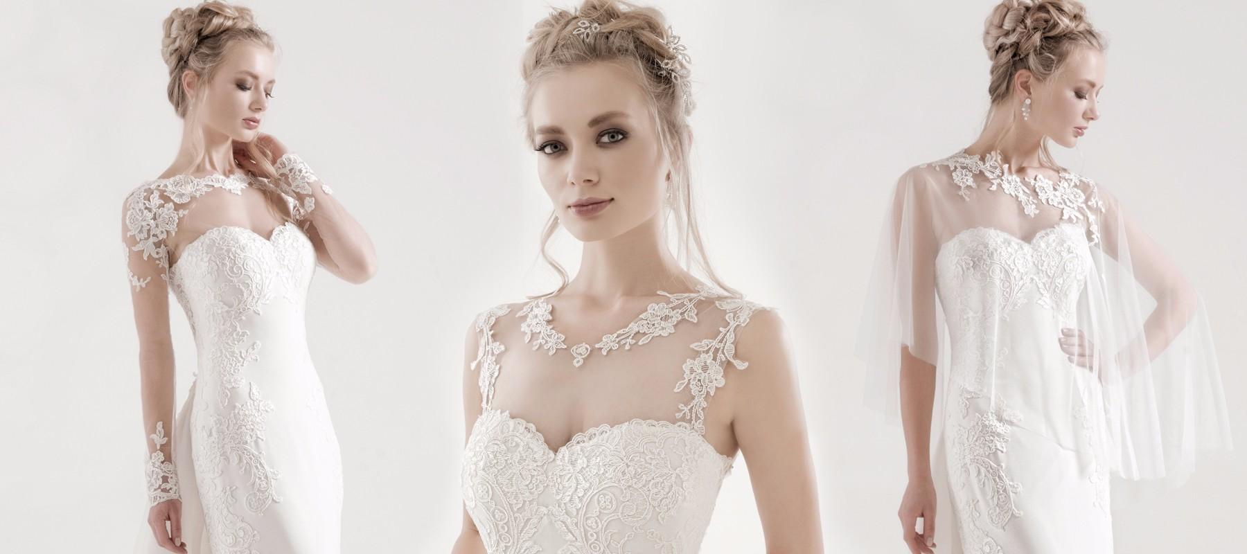 7128ac60e2ee Abiti da sposa invernali  maniche lunghe o coprispalle  - Anna Tumas