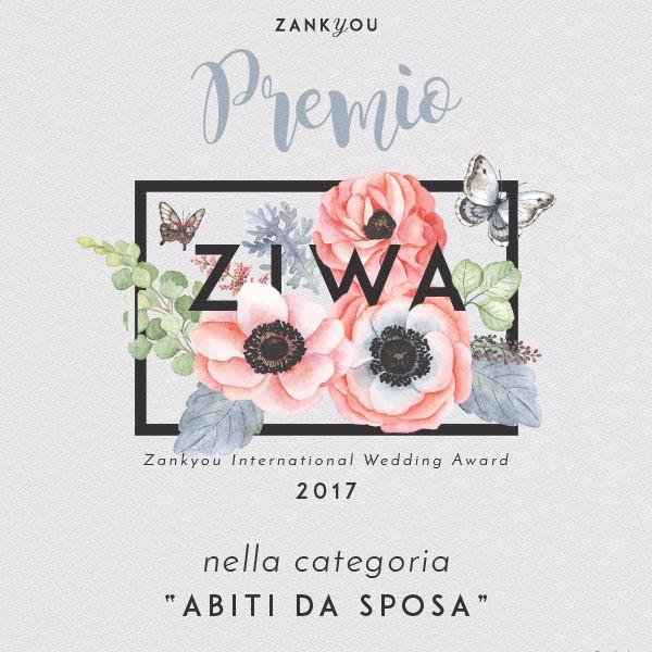 Migliori Atelier sposa Roma: Anna Tumas vince il premio ZIWA
