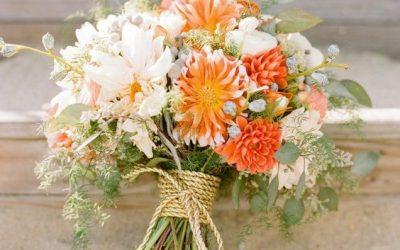 Bouquet da sposa particolari: esalta il tuo stile con una composizione messy!