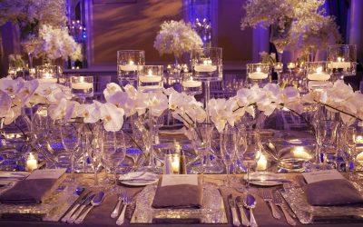 Banchetto di nozze: 3 proposte di stile da mettere in tavola!